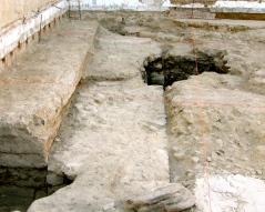 Templo sobre casa Norte